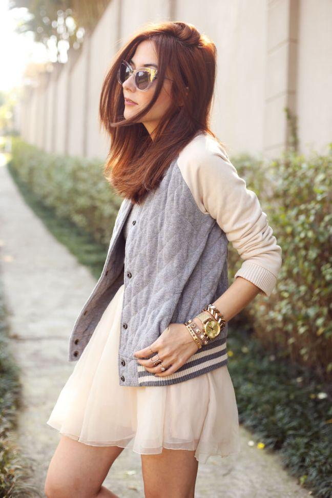 FashionCoolture-16.08.2016-look-du-jour-tulle-skirt-Gap-bomber-jacket-5